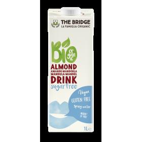 Lapte De Migdale 3% 1 L BIO ,, Fara Zahar '' The Bridge