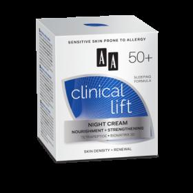AA CLINICAL LIFT 50+ CREMA DE NOAPTE, 50 ML (OCEANIC)