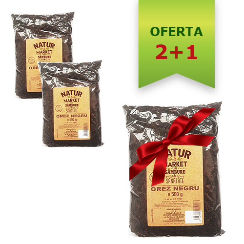 Pachet 2 + 1 gratis - orez negru